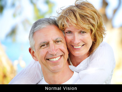 normal vision